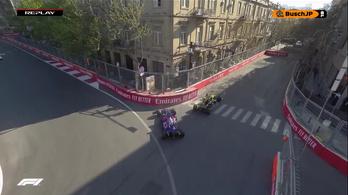 3 rajthely Ricciardónak a tolatásos balesetért