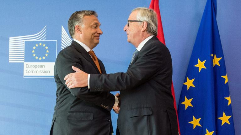 Juncker: Orbán nem diktátor