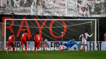 A Rayo 22 év után legyőzte a Real Madridot