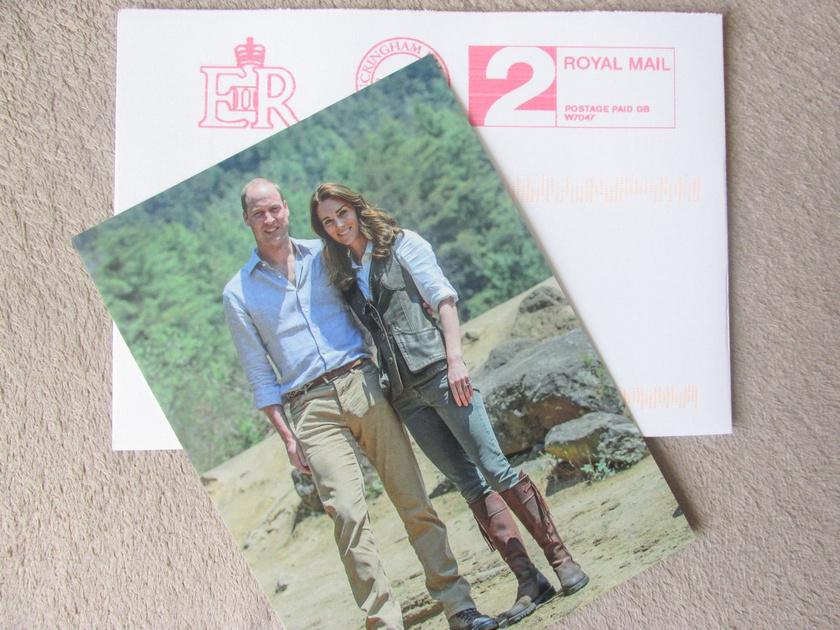 Tarolt a neten a hercegi pár édes fotója, ami a Tigris fészke-kolostornál készült róluk.