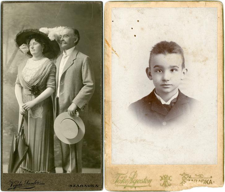 Csáth Géza édesapja és mostohaanyja Budanovits Ilona, 1910 / Csáth Géza, 1895