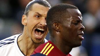 Ibrahimovic sérüléssel fenyegette ellenfelét
