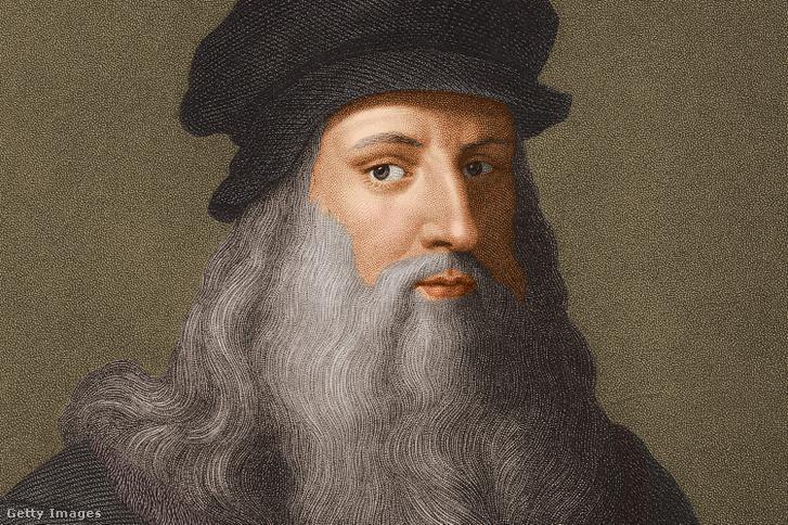 Leonardo da Vinci portréja, körülbelül 1510-ben készült