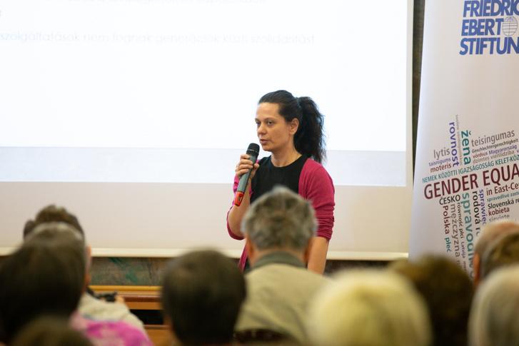 Gyarmati Andrea előadása az Idősödés Magyarországon konferencián
