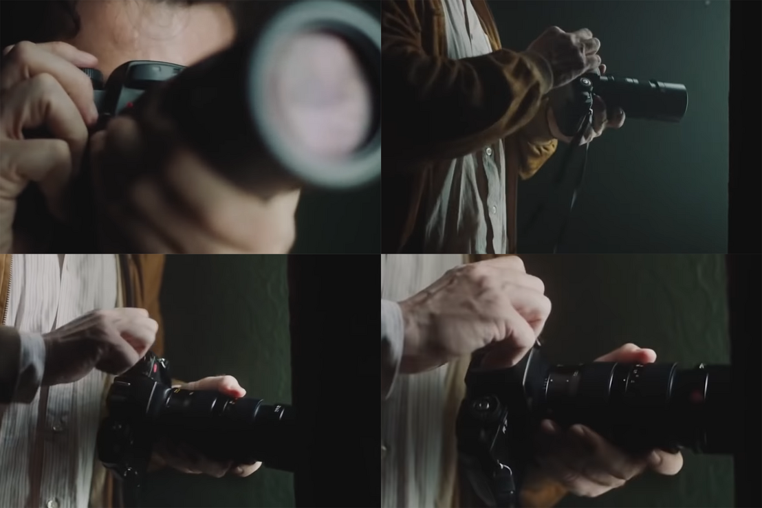 Nikon? Ó, dehogy! Egy Leica R7 a kilencvenes évek elejéről.