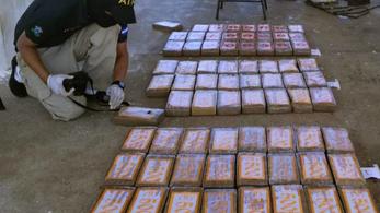 94,2 tonna kokaint foglaltak le egy nemzetközi akcióban