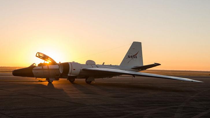 A WB-57 (Martin B-57 Canberra) kutatógép