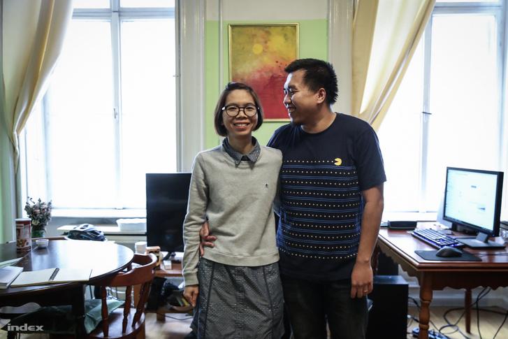 Ngoc Nguyen Quang és felesége