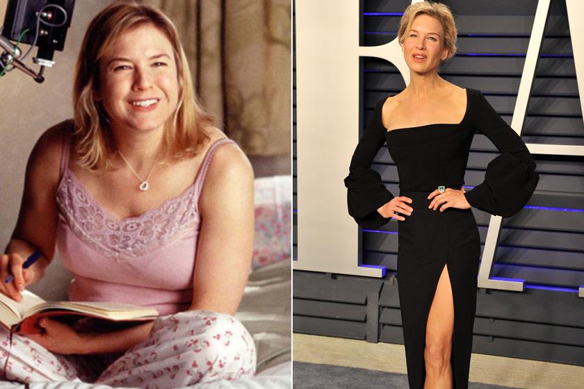 Renée Zellweger, bár 15 kilót hízott az első két Bridget Jones-részben, örül annak, hogy a film nem követelt meg tőle még nagyobb hízókúrát. Manapság azonban olyan vékony, hogy a rajongók már emiatt aggódnak érte.