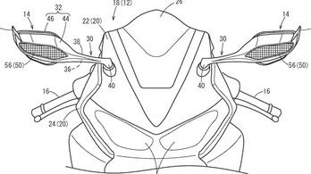 A visszapillantó fog leszorítóerőt termelni a következő Honda CBR1000RR-en