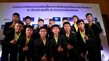 A Netflix is feldolgozza a barlangban rekedt thai gyerekek drámáját