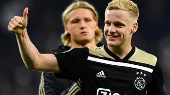 Az Ajax egy lépéssel közelebb a BL-döntőhöz