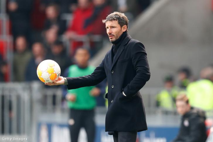 Van Bommel a PSV edzőjeként