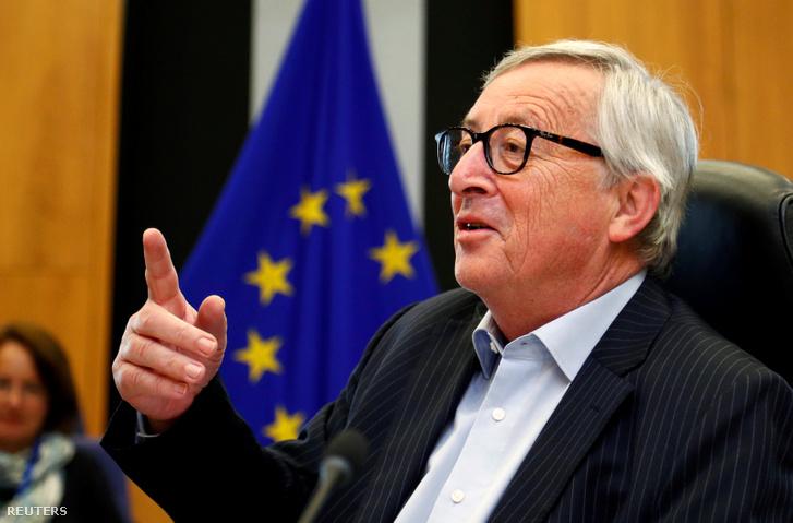 Jean-Claude Juncker 2019 április 30-án