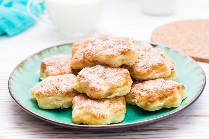 Egyszerű, édes, túrós keksz: érdemes nagy adagot sütni belőle