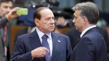 Orbán: Berlusconi a legjobb barátom, Salvini Európa legfontosabb embere