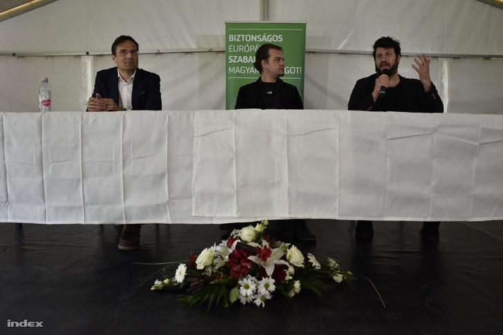 Gyöngyösi Márton, Stumpf András és Puzsér Róbert