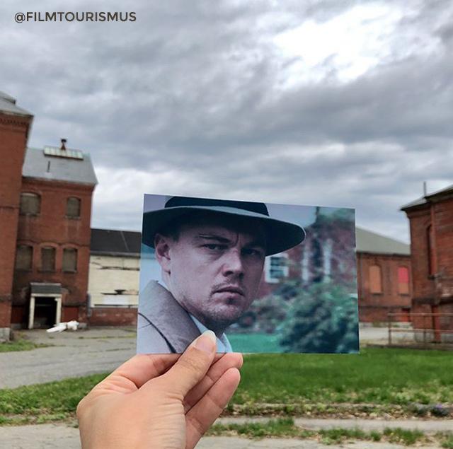 DiCaprio egyik legnépszerűbb filmje, a Viharsziget nem szigeten forgott, hanem a Massachusetts állambeli Medfield városában.