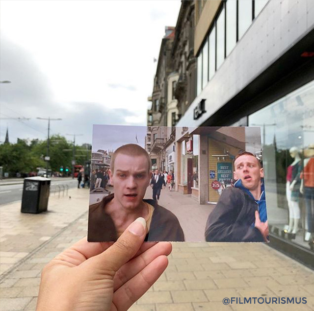 """""""Válaszd az életet!"""" A Trainspotting Edinburgh városát járja végig."""