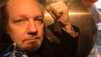 50 hét börtönt kapott Julian Assange