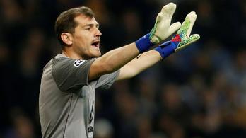 Iker Casillas szívinfarktust kapott egy edzésen
