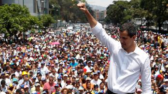 Újabb ellenzéki óriástüntetés Venezuelában