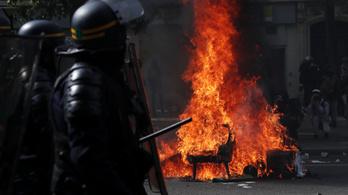 Franciaországban elszigetelt radikális csoportok csaptak össze a rendőrökkel