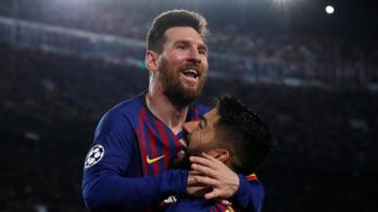 A Barcelona 3-0-val a BL-döntő küszöbén
