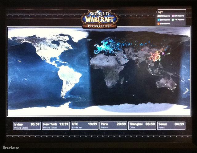 Az IRL világ WoW térképe