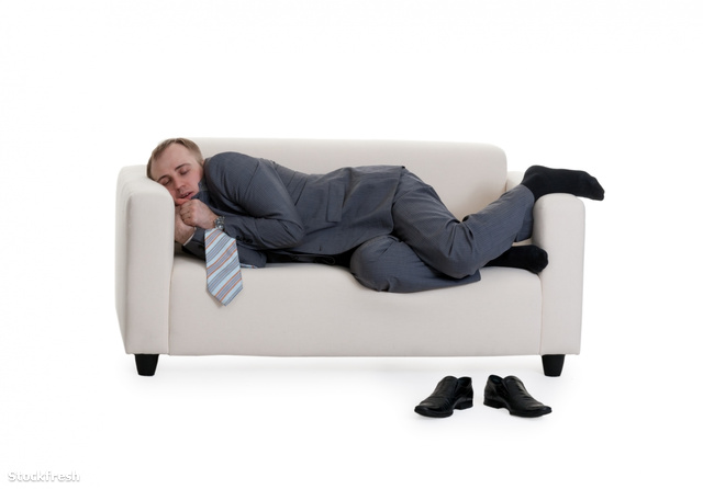 stockfresh 1267007 businessman-sleeping-on-a-sofa sizeM