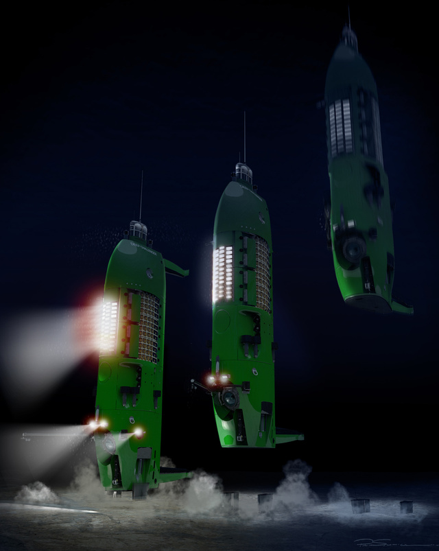 A Deepsea Challenger fantáziarajza
