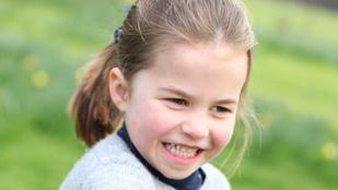 Charlotte hercegnő ma lett 4 éves