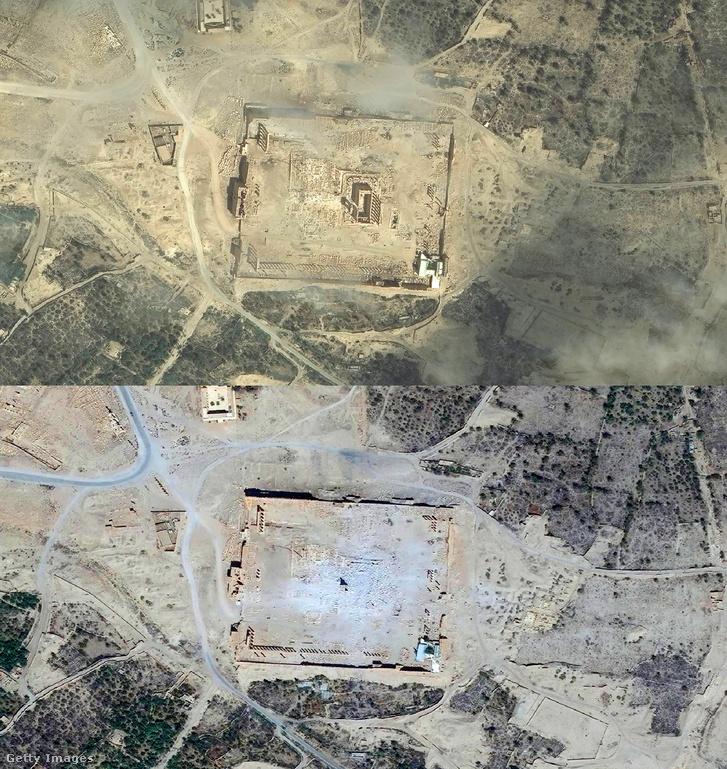 A palmürai Baál-Samin templom