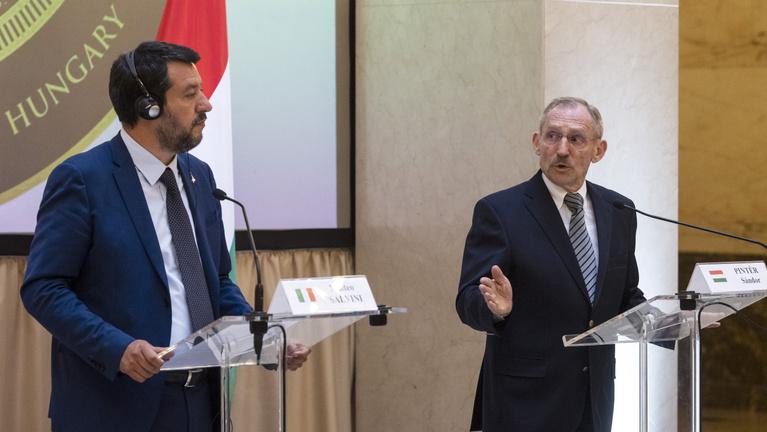 Pintér és Salvini: Azonos az elképzelésünk