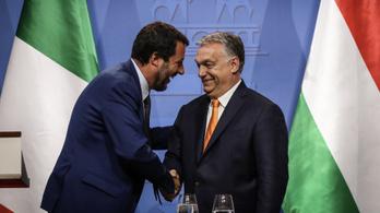 Orbán: Magyar érdek, hogy Salvini sikeres legyen