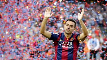 Xavi a szezon végén visszavonul