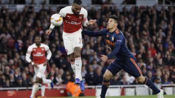 EL-elődöntők: az Arsenal 0-1-ről fordított 3-1-re
