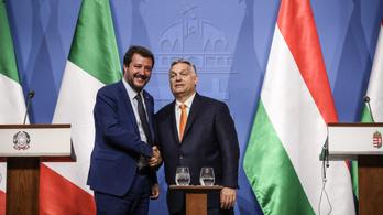Orbán: Salvini szöget vert a bevándorláspárti erők koporsójába