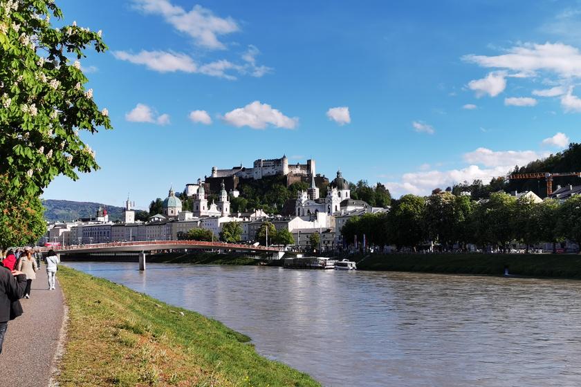Mozart városa tavasszal is tele van szépséggel: egy mesebeli csoda ilyenkor Salzburg