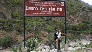 Így jutottak el az inka futárok Machu Picchura. Aztán én is