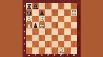 Hogy lehet úgy mattot adni, amikor a sakk sem látszik?