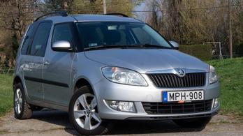 Használtteszt: Škoda Roomster 1,2 TSI Fresh - 2014.