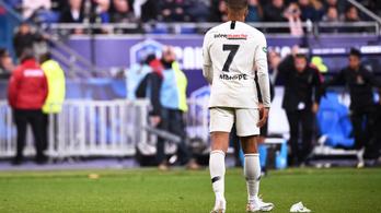 Mbappét 3 meccsre tiltották el, bánhatja az Aranycipő miatt