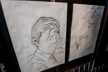Magda Marinko rajza a gyűjteményben