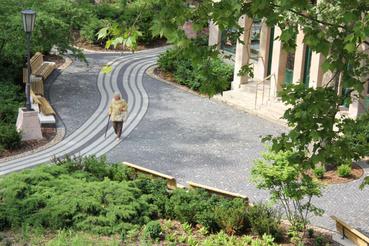 Műszaki ellenőrzés: Szent Lukács Gyógyfürdő kertje