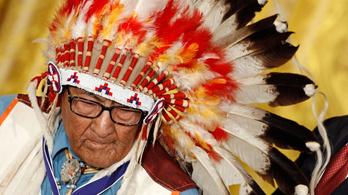 Az indián, aki harci díszben küzdötte végig a második világháborút