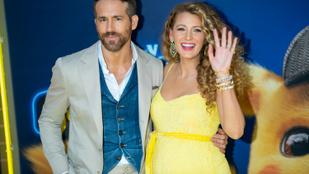 Blake Lively ismét gyereket vár Ryan Reynoldstól