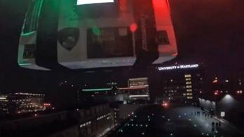 Drónnal vitték a vesét a műtéthez egy amerikai kórházba