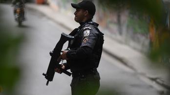 Napi öt embert lőnek le a riói rendőrök