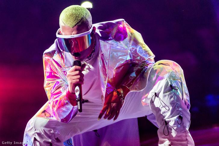 Bad Bunny élő koncertje a Madison Square Garden-ben 2019. április 27-én